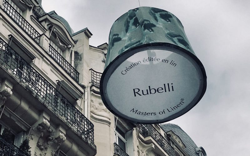 Rubelli a Paris Deco Off 2019 con Hangar Design Group