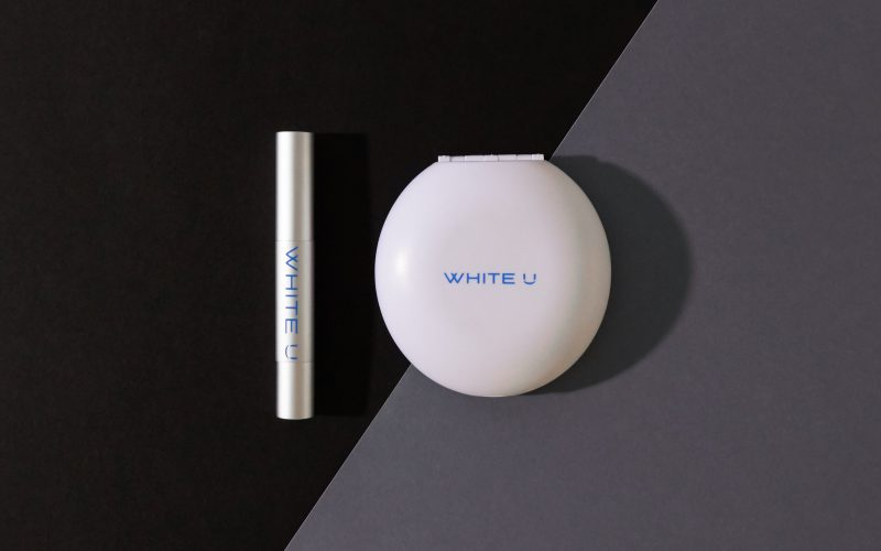White U - A new brand image for an innovative tooth bleaching treatment.